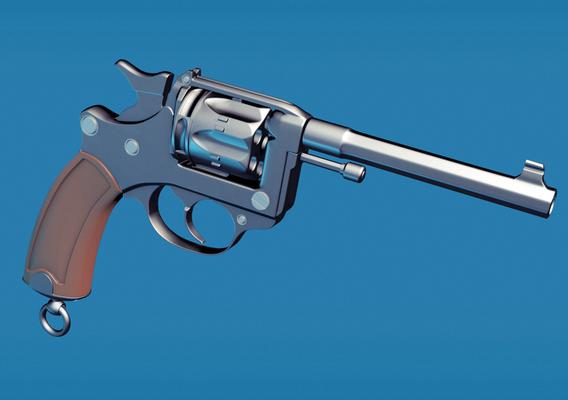 French-Revolver-Mle1892