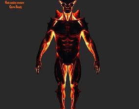 3D asset lava monsters