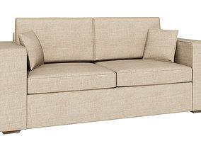 Soft sofa 232 3D model