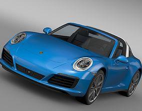Porsche 911 Targa 4 991 2016 3D