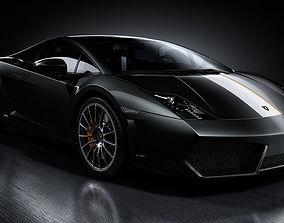 High Detailed Lamborghini Gallardo Model - Scene 3D model