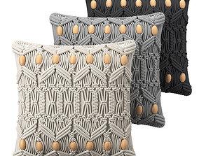 Cushions Macrame 3D