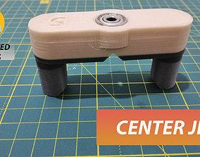 3D print model Center doweling jig 5mm