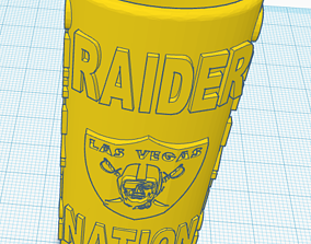 3D printable model Raider Nation Bic Lighter Case