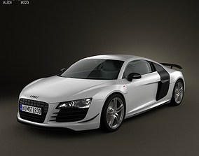 3D model Audi R8 GT 2011
