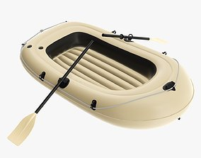 Boat inflatable 05 3D
