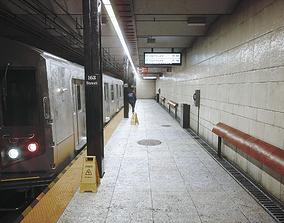 Subway 3D asset