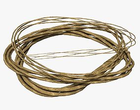 3D Rope from Four Cords
