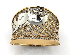 3D print model ring ston 95
