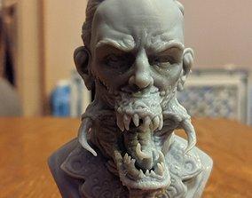 Corrupted human 3D printable model