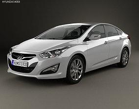 3D model Hyundai i40 sedan EU 2012