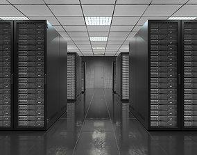 3D Serverroom Black