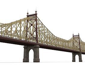3D model Queensboro Bridge