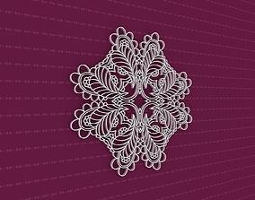 3D model Mandala flower