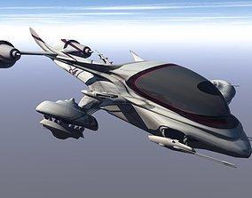 Drone Attacker 3D print model