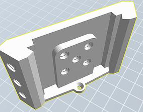 Lego Minifigure Hexagonal Display 3D printable model 2