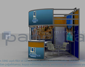 3D model Colosae-Hotel exhibition stand design