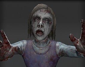 3D model Mysterious Girl