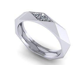 rhombus ring 3D print model