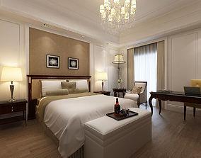3D Hotel Room Scene 02