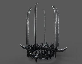 Witch-King of Angmars Crown Lord Of The Rings 3D model