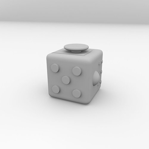 fidget-cube-3d-model-obj-3ds-fbx-blend-d