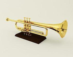 3D printable model Trumpet