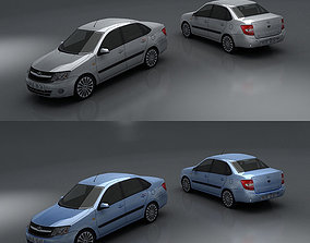 Lada Granta 3D model
