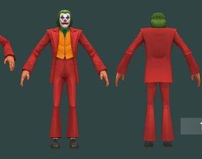 3D model Low poly Joker