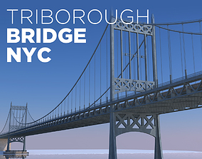 Triborough Bridge 3D
