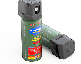 Pepper Spray 3D