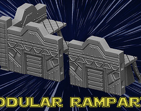 Modular Ramparts 3D printable model