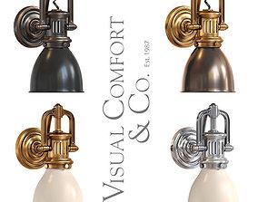 Visual Comfort light SL2975 rubbed 3D model