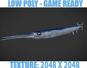3D asset SwordFish