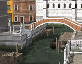 Canal Town for DAZ Studio 3D model