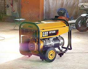 3D asset Electric generator - CAT RP 5500
