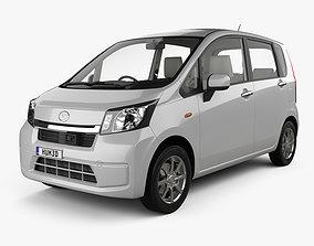 3D model Daihatsu Move with HQ interior 2012