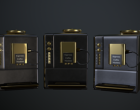 Coffee Maker 3D asset