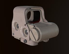 3D asset Eotech exps2 Holographic Sight Desert Camo