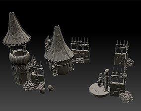 Salvager Ramparts Full Set Printable Terrain