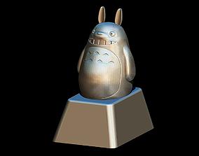 3D printable model Custom Totoro keycap for Cherry mx