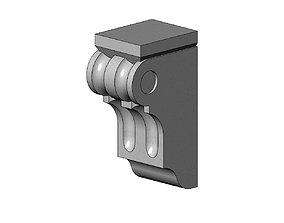 Corinthian Style Corbel and Bar Bracket 3D printable model