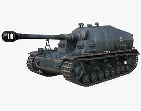 3D model Tank K18 Auf Panzer Mental Ray