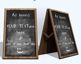 3D asset Ad Board
