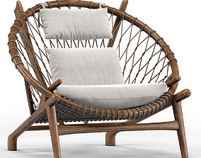 Dovetail Bison Occasional Chair 3D