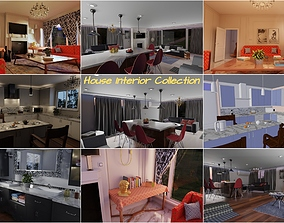 3D PBR House Interior Collection