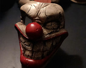 Twisted metal killer clown mask Stl file printable