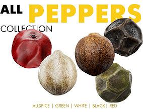 Peppercorns 3D model