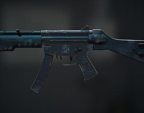 3D asset Weapon model MP5