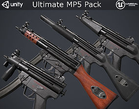 Ultimate MP5 Pack 3D asset